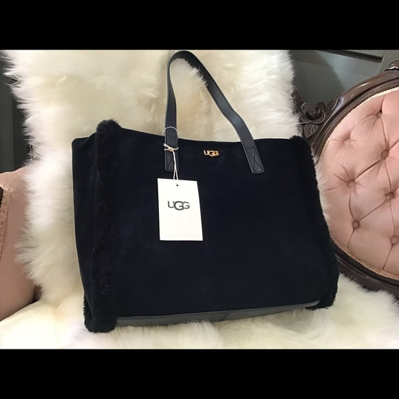 d0691565eb1 SALE NEW🌵UGG Charlee Tote in Black NWT